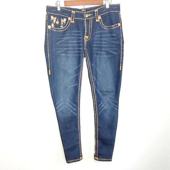 True Religion Billy BigT Sequin Jeans